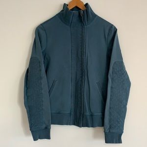 lululemon Vintage Slalom Full-Zip Jacket Teal Sz8